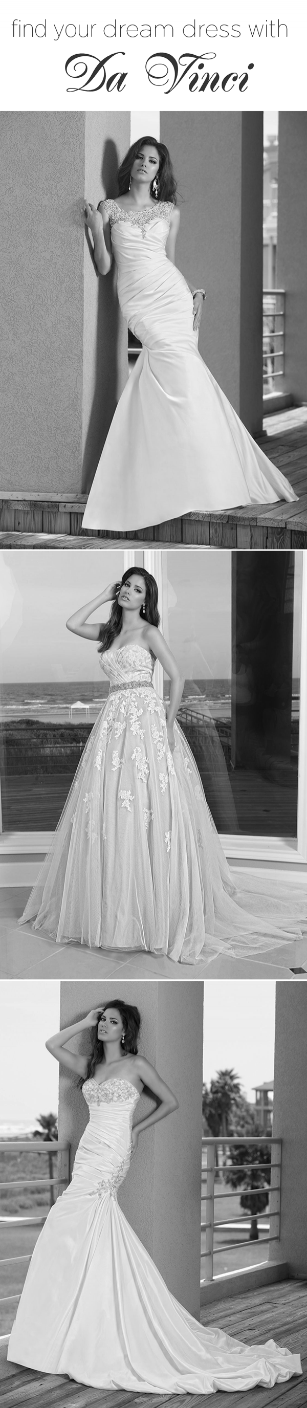 Designer Dresses from DaVinci Bridal