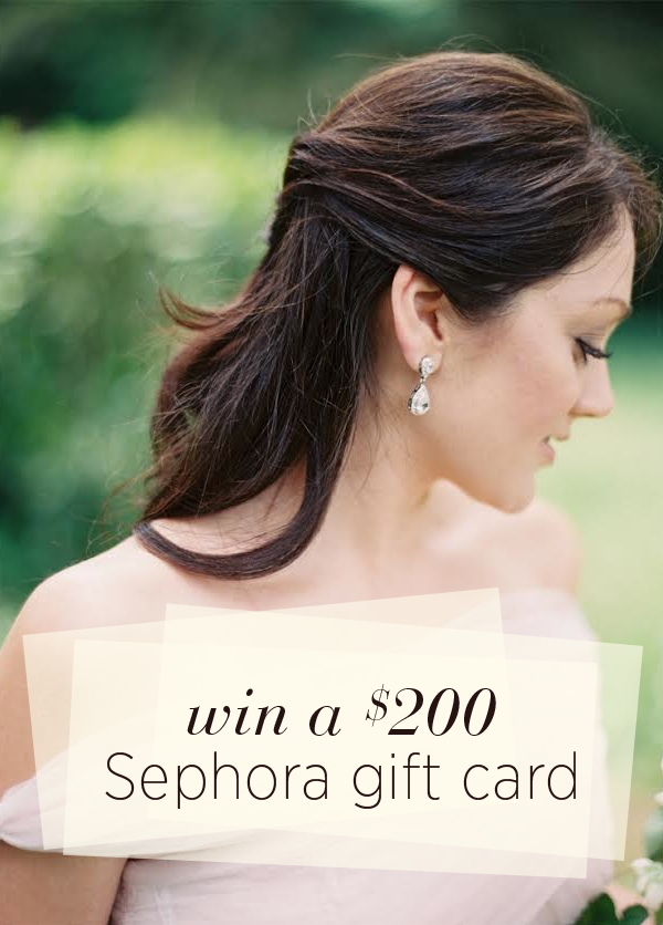 Win a $200 Sephora Gift Card