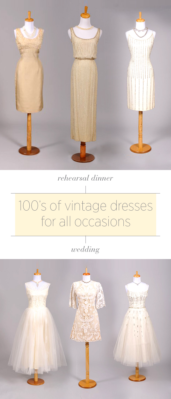 Vintage Wedding Dresses from Mill Crest Vintage