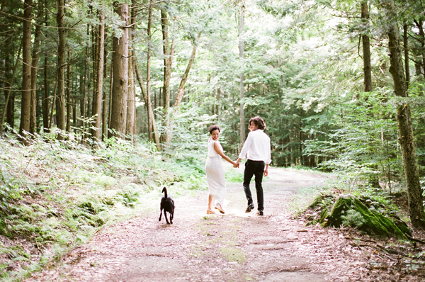 Peaceful Connecticut DIY Wedding