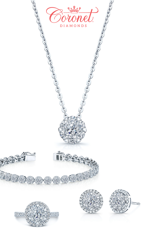 Diamond Engagement Rings from Coronet and Tacori