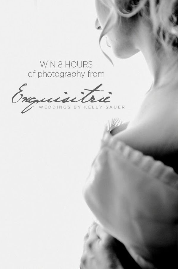 Win 10 Hours of Wedding Photography from Kelly Sauer