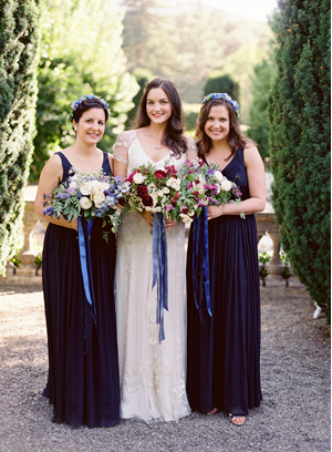 dark-navy-blue-bridesmaid-dresses