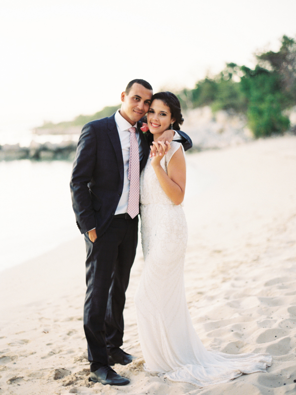 Romantic Tropical Haiti Wedding
