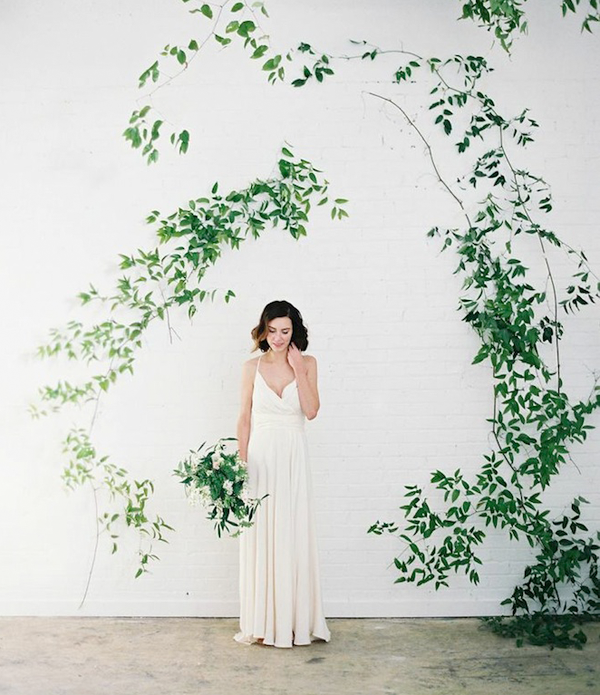 DIY Wild Vine Arch Wedding Ideas
