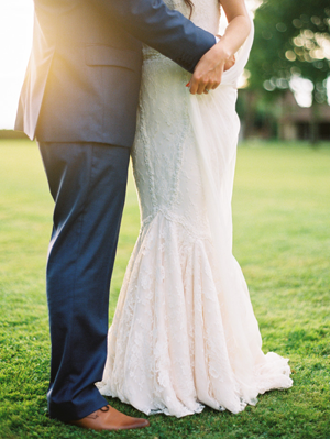 Intimate French Countryside Wedding