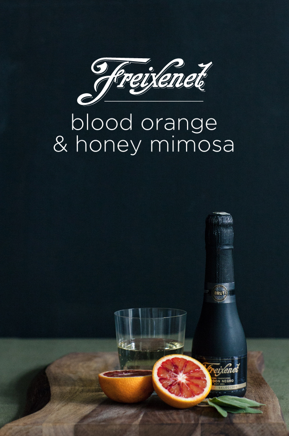 Blood Orange & Honey Mimosa with Freixenet