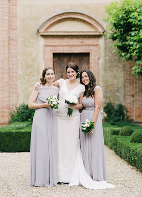 bridesmaids-italy-grey-bridesmaids-dresses