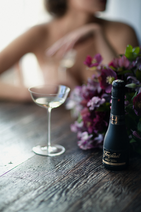 an evening with freixenet