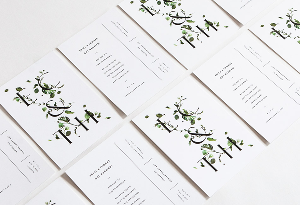greenery-wedding-invitations