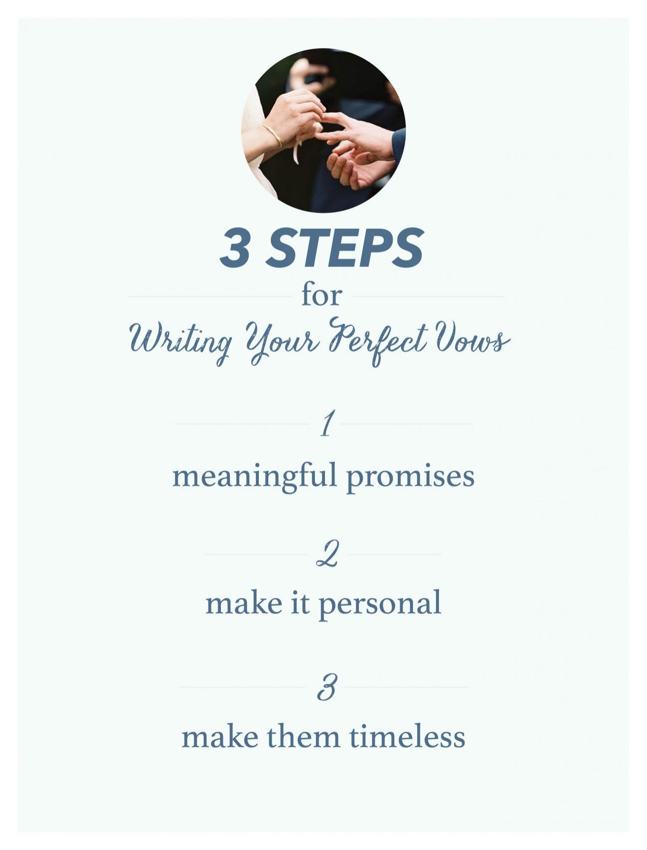 A guide to writing your perfect wedding vows once wed a guide to writing your perfect wedding vows junglespirit Gallery