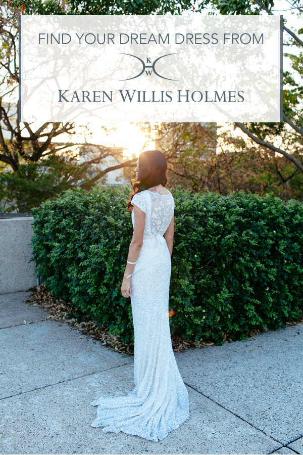 Find Your Dream Wedding Dress with Karen Willis Holmes