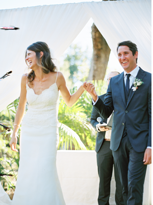 Elegant Outdoor Montecito Wedding