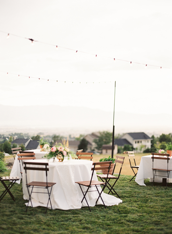 Elegant Garden Party Wedding