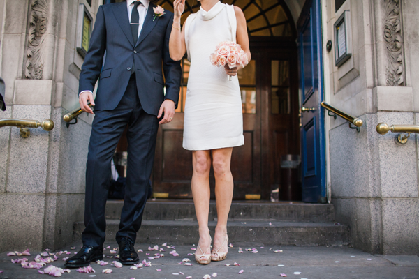 Surprise Modern Wedding in London