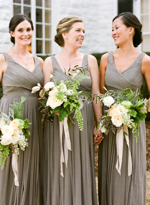 grey-bridesmaid-dress