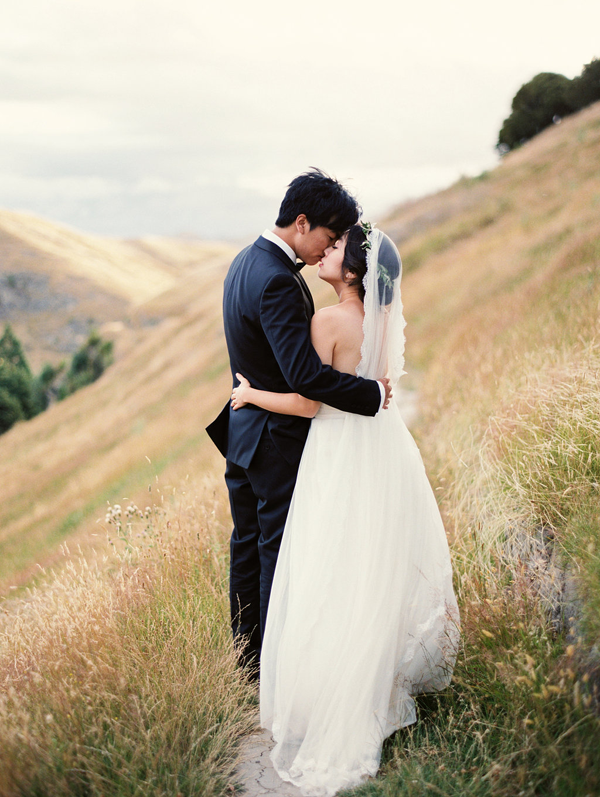 Stunning Outdoor New Zealand Wedding