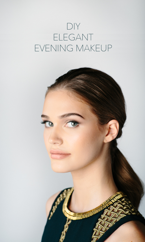 Diy Elegant Evening Makeup With Temptu Diy Weddings