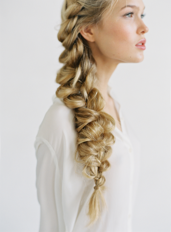 Elsa Textured French Braid Tutorial from Frozen