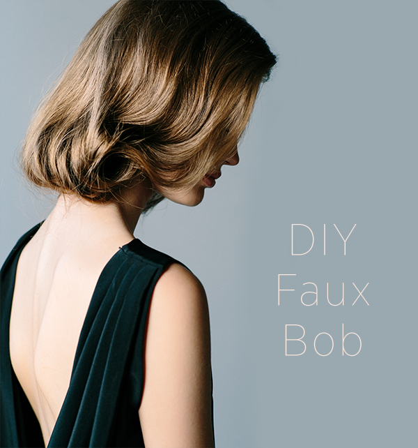diy-faux-bob-hair-tutorial-for-long-hair