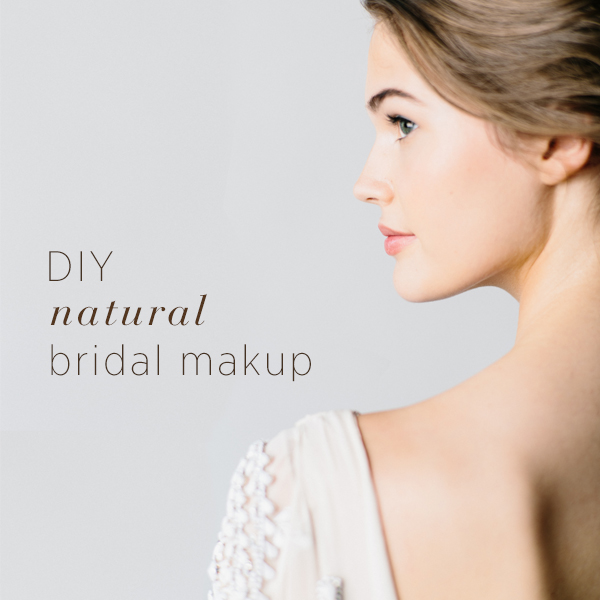 DIY Natural Bridal Makeup With Temptu