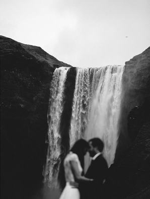 iceland-elopement-waterfall