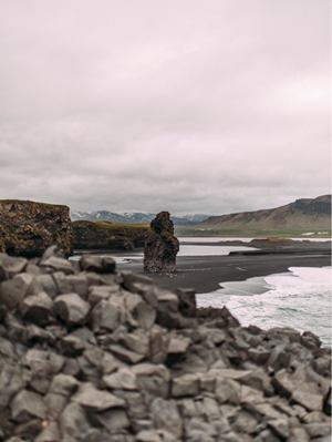 Romantic Beach Elopement in Iceland