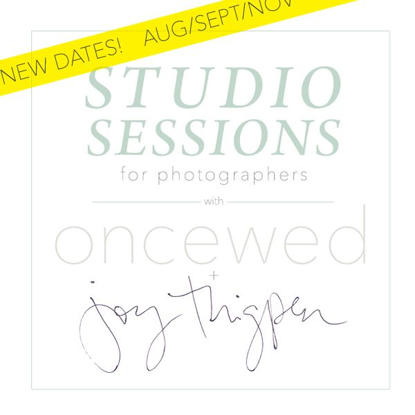 A Styling Workshop for Photographers (Studio Sessions)