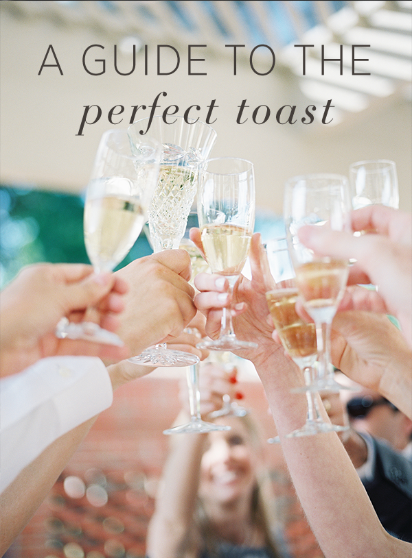 A Guide to the Perfect Wedding Toast
