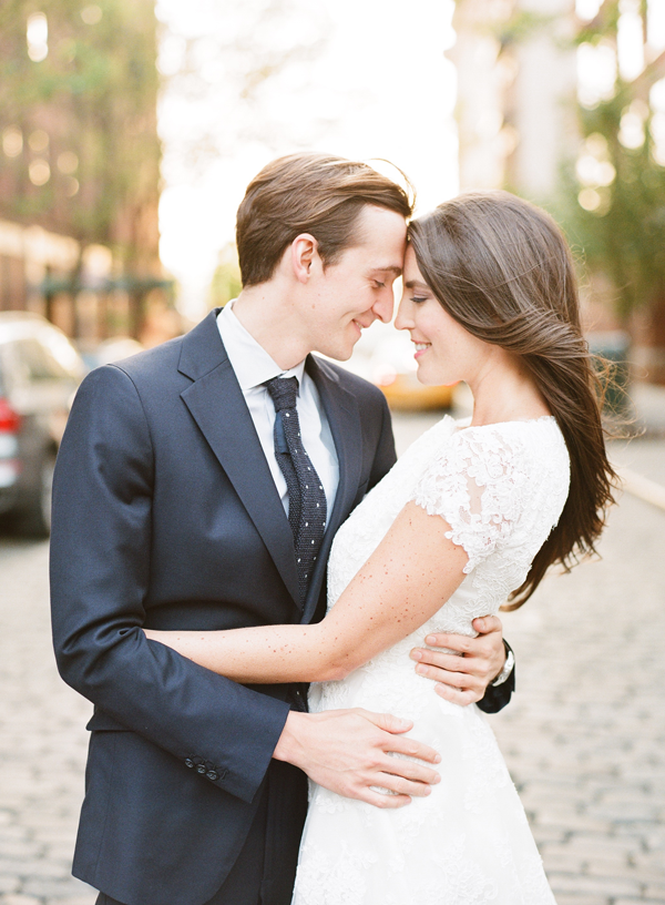 Light-Filled New York City Engagement
