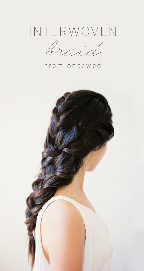 DIY Interwoven 3-Strand Braid
