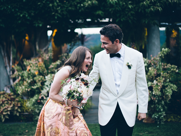 Fashionable New York Garden Wedding