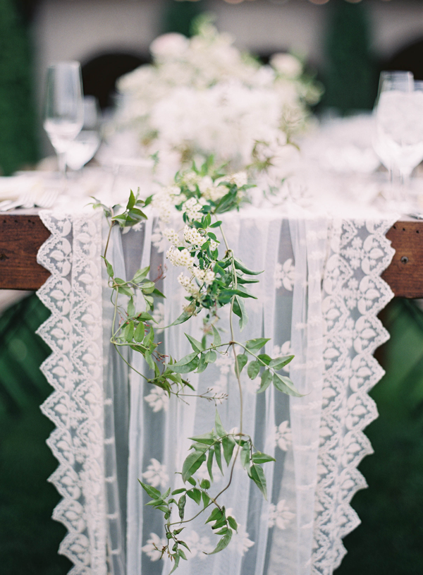 Elegant White Utah Wedding
