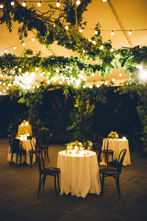wedding-garland-tent-cafe-lights