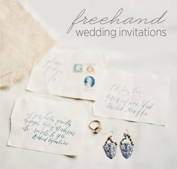 Freehand-wedding-invitations