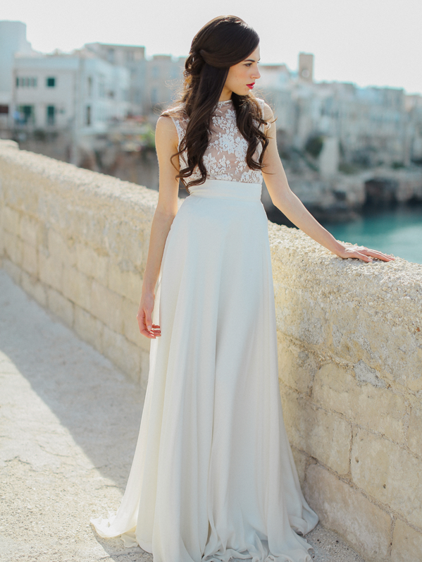 Bridal Shoot Inspired by Italian Architecture