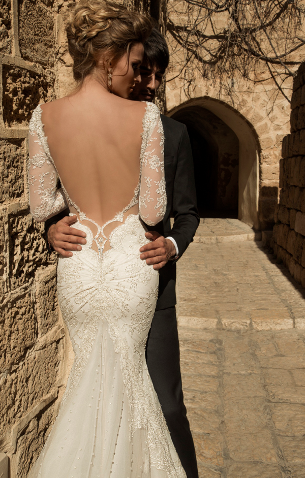 Galia lahav haute couture wedding dresses once wed for How to become a haute couture designer