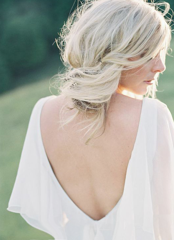 messy-chignon-wedding-hair-ideas