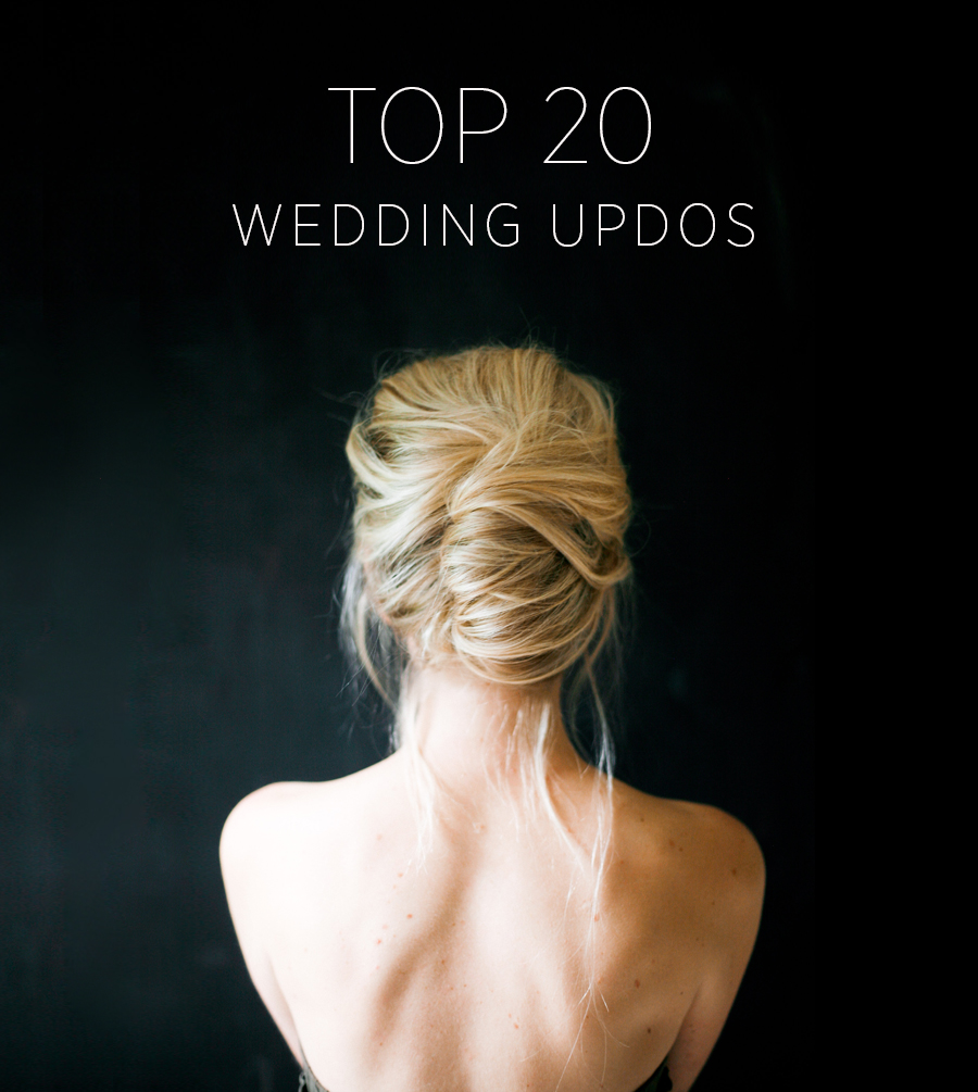 Top 20 Wedding Updos | Wedding Ideas | OnceWed.com