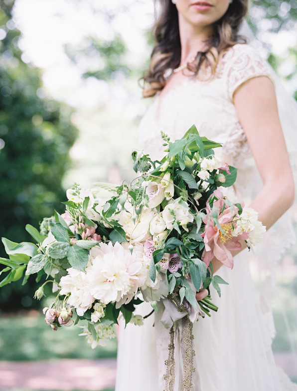 Intimate Outdoor Spring Elopement