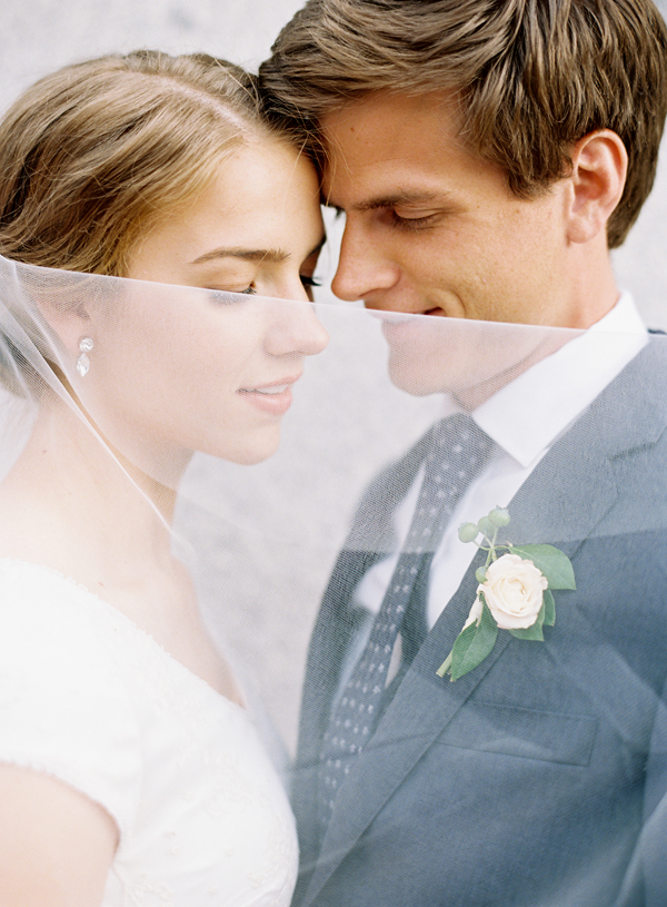 Simple, Elegant Utah Wedding