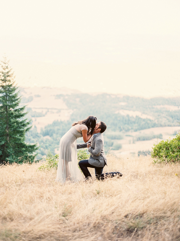 Surprise Mountaintop Proposal