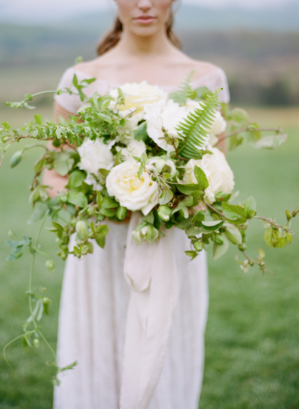 White Wedding Ideas from Belle Lumiere Workshop