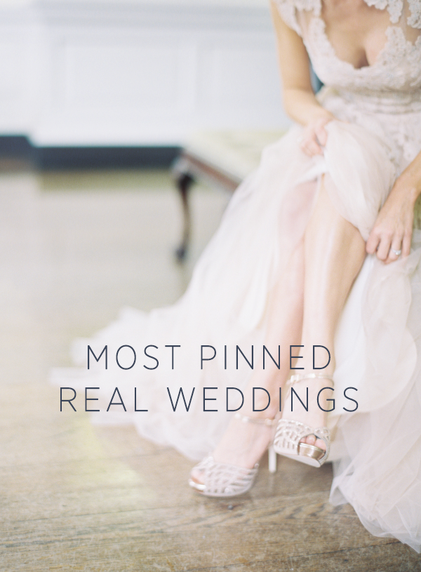 Most Pinned Real Weddings