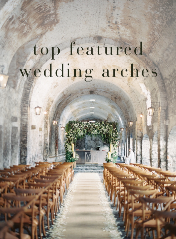 Top Featured Wedding Arches