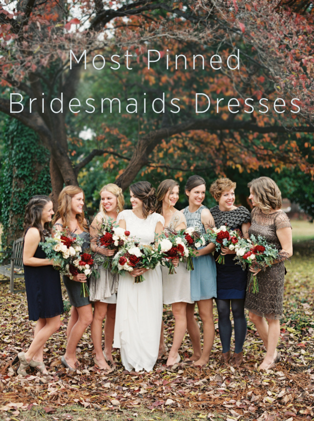 Most Pinned Bridesmaids Dresses