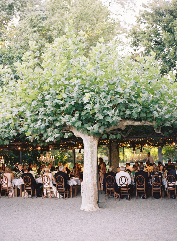 Elegant Outdoor California Wedding