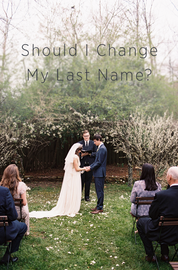 Should I change my last name?