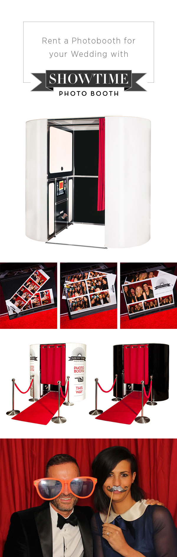 Rent a Photo Booth from Showtime Photo Booth