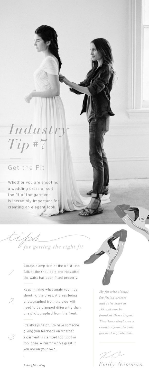 Industry Tip No. 7 From My Styling Kit: Get the Fit